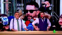 """Dani Mateo: """"Ursula Corberó tendrá que declarar por atracar la Casa de la Moneda y Javier Rey por narcotráfico"""""""