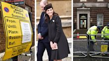 'Royal baby watch' underway as barriers go up outside Lindo Wing