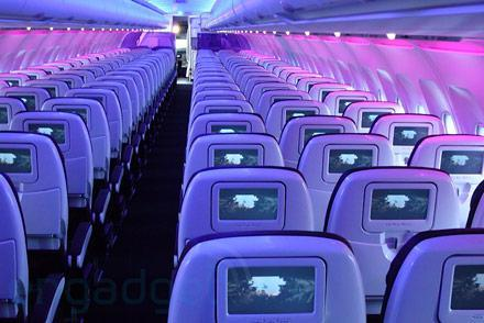 Mega hands-on: Virgin America's Airbus A320 with Red in-flight entertainment