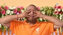 Seeing Yogi Adityanath in saffron Liverpool FC jersey, Twitter fans go berserk