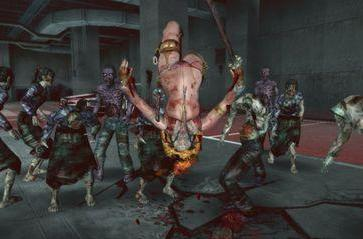 Hot chick kills zombies, gains fame