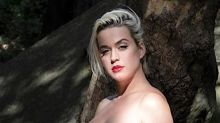 Pregnant Katy Perry strips down in idyllic 'Daisies' music video