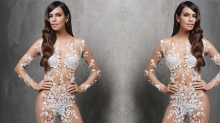 This Naked Bridal Jumpsuit Exists and Wow, OK