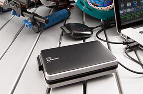 WD unveils a truly portable Thunderbolt drive for performance junkies