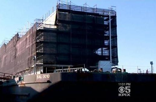 Google Barge bids farewell to San Francisco, to make Stockton its new California home
