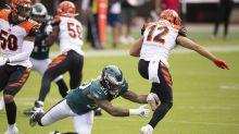 Bengals, Eagles stumble to 23-23 tie