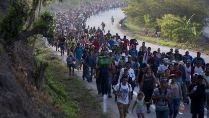 New migrant wave seeing little support in Mexico