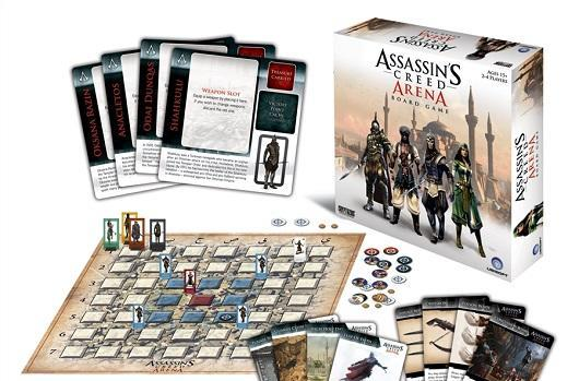 Ubisoft unveils Assassin's Creed: Arena board game