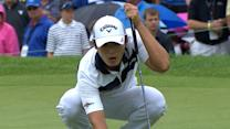 Danny Lee's clutch birdie on the first playoff hole is the Shot of the Day