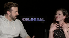 'Colossal' Stars Anne Hathaway and Jason Sudeikis Describe What Monster Versions of Them Would Look Like