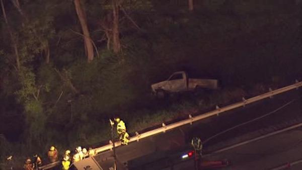 1 seriously hurt in Pennsylvania Turnpike crash
