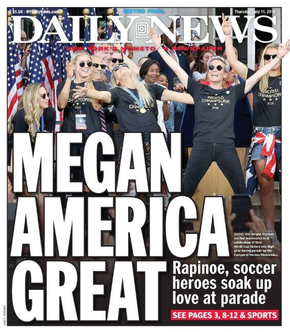 New York Daily News Twists Trump's MAGA Slogan For Epic Soccer Cover