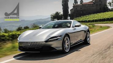 法拉利全新GT跑車Ferrari Roma獲「2020 Car Design Award汽車設計大獎」殊榮!