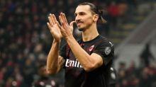 Serie A: AC Milan striker Zlatan Ibrahimovic injures calf in training ahead of league's resumption