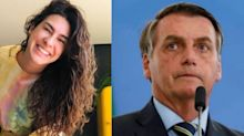 """Fernanda Paes Leme ironiza Bolsonaro: """"Corpo mole é seu estado normal"""""""