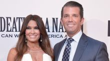 Donald Trump Jr. and Kimberly Guilfoyle make their red carpet debut as a couple