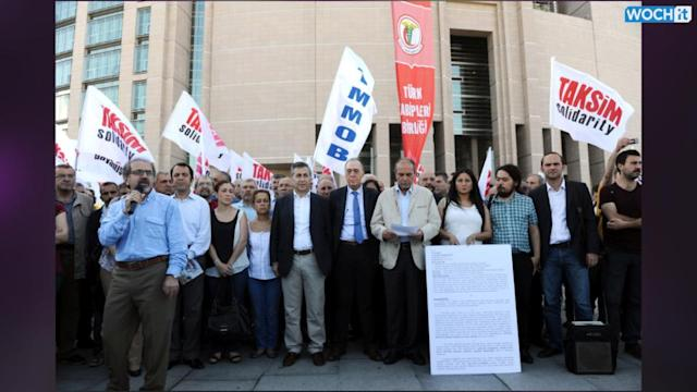 Turkish Protest Organizers Go On Trial, Face Up To 30 Years In Jail