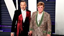 David Furnish pays birthday tribute to 'incomparable' husband Sir Elton John