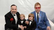 Coronavirus: Elton John 'loving every second' of lockdown with his family