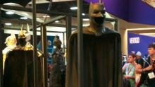 Ben Affleck's Batman Suit Is a Stiff Throwback