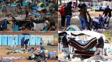 FOTOS | Tijuana cierra albergue para migrantes por condiciones insalubres