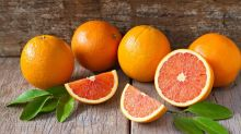 These stunning pink Cara Cara oranges are the perfect G+T garnish