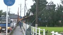Deadly typhoon rips through Japan