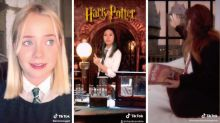 Fans de 'Harry Potter' escapan de la cuarentena insertándose en las películas
