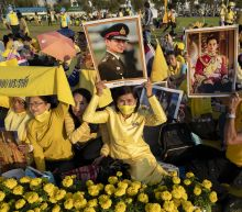 Thai king leads thousands to remember late father's birthday