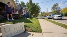 Quiet day in London, Ont., as law enforcement monitor Western 'fake homecoming'