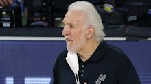 Popovich not dwelling on past after Spurs' record-tying playoff streak ends