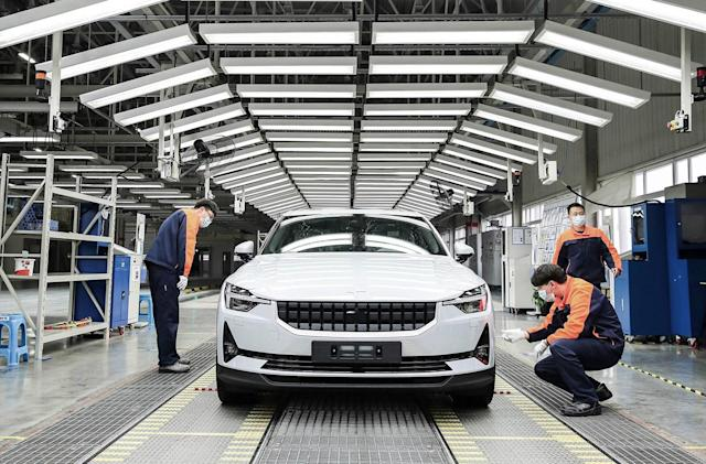 Polestar 2 EV production starts in China despite COVID-19