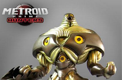Collectible Metroid statue; where's Samus?