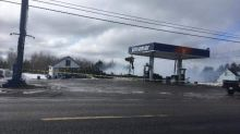 Gas pumps saved, Saint-Sauveur's only convenience store destroyed in fire