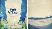Mum outraged after Woolworth's powdered milk gives daughter food poisoning