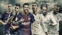 Los goleadores de Barcelona y Real Madrid en la temporada 2017/18