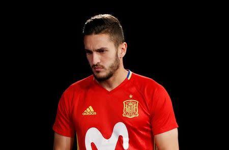 Football Soccer - Spain national soccer team news conference - Stade de France