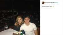 Singapore swimmer Joseph Schooling goes on a date with cheerleader