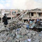 Death toll from Somalia bomb attacks tops 300