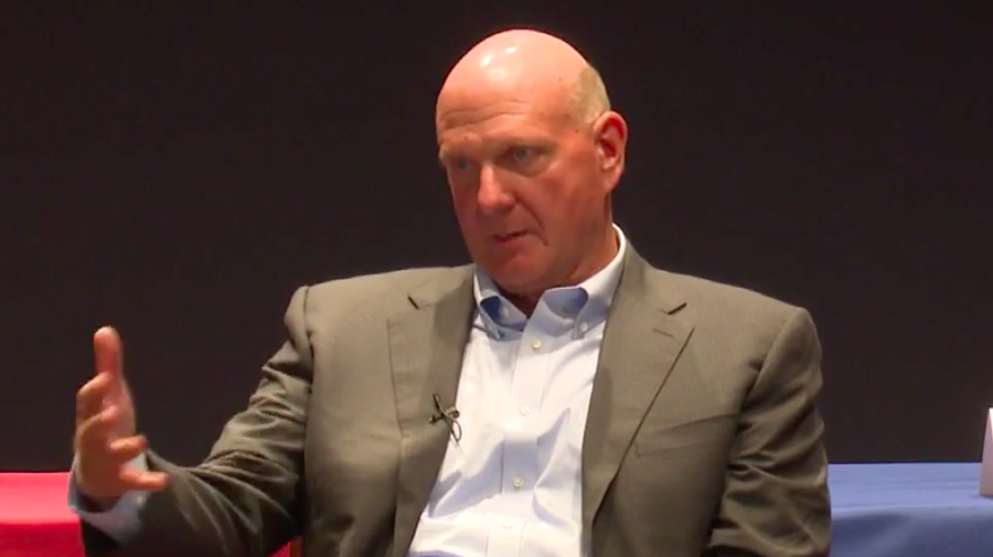 Ballmer on Facebook, privacy and regulation