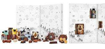 Hotel Chocolat's new advent calendar includes chocolate & alcohol
