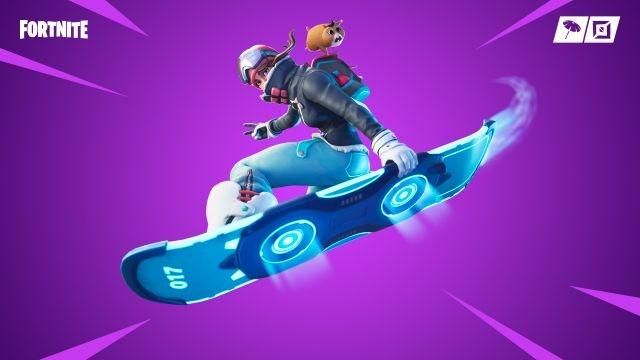 fortnite adds hoverboard homage - hoverboard parts fortnite