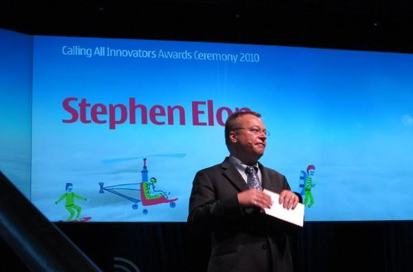 Stephen Elop chants 'Developers, developers, developers' to close Nokia World (video)