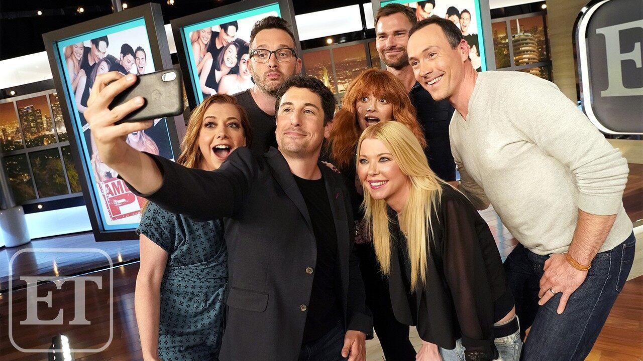 Alyson Hannigan American Pie Hot inside the 'american pie' reunion: sweet memories, sexy