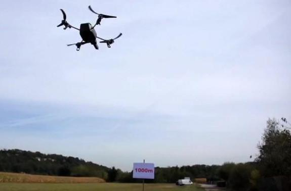 Alcatel-Lucent flies Parrot AR.Drone 2.0 over 3,280 feet using LTE: reach out and buzz someone (video)