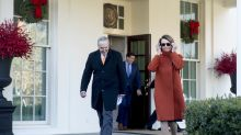 Nancy Pelosi walks out of the White House looking like a boss — and the internet is losing it