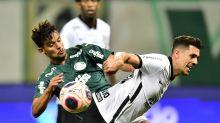 Palmeiras chega melhor que o Corinthians no dérbi, mas não convence