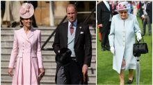 Kate Middleton stuns at Buckingham Palace garden party