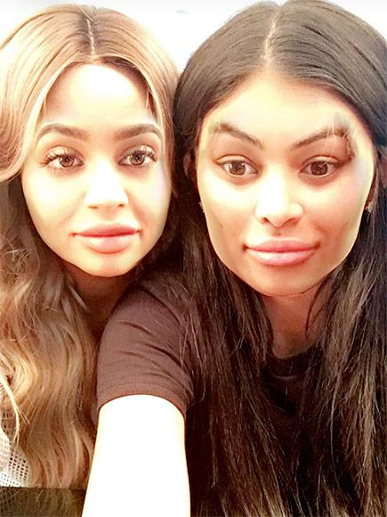 Kylie Jenner and Blac Chyna Pose for Snapchat: 'We've Been Best Friends the Whole Time'| Couples, Keeping Up with the Kardashians, TV News, Kylie Jenner, Tyga