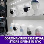 Coronavirus essentials store opens in NYC